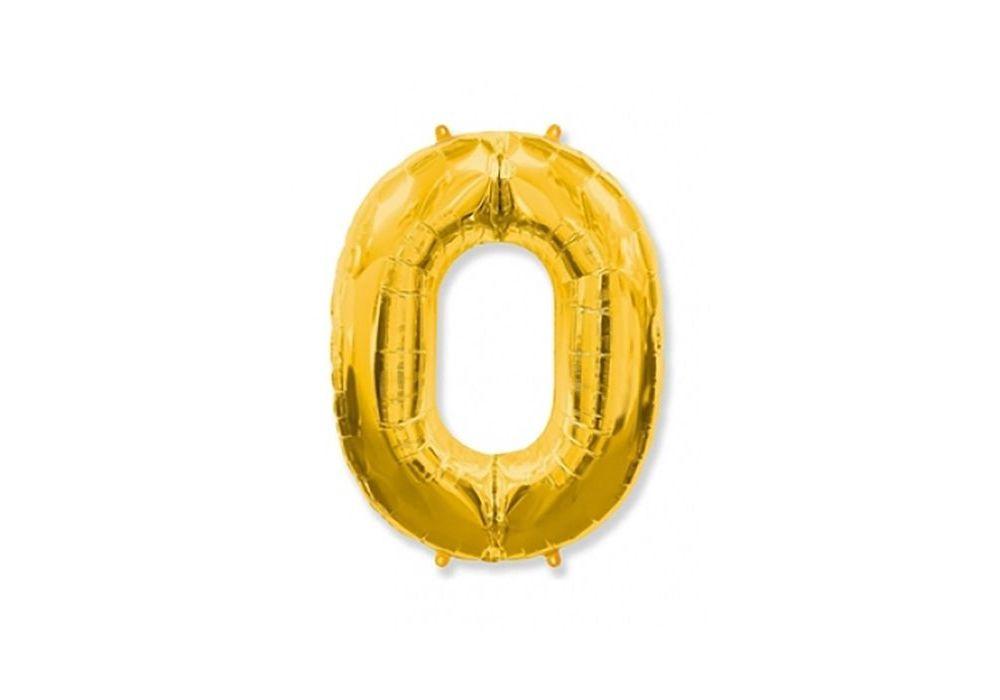 Цифры 102см Золото