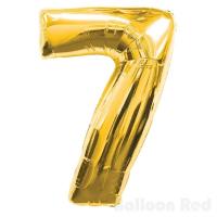 Цифра 7 102см Золото